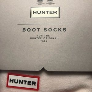 Hunter women's fleece tall boot socks Size M